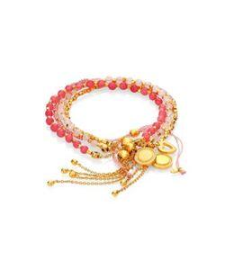 Astley Clarke | Love Me Do Kula Biography Bracelet Stack