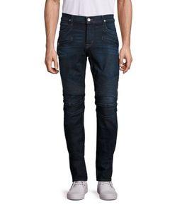 Hudson   The Blinder Biker Panel Jeans