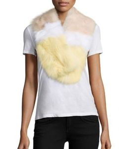 Yves Salomon | Colorblock Fox Fur Scarf