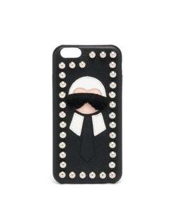 Fendi | Karl Fur-Trimmed Iphone 6 Case