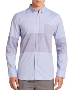 Timo Weiland | Marco Middle Stripe Woven Shirt
