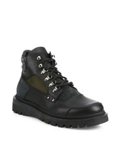 Moncler | Leather Winter Boots