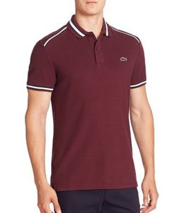 Lacoste | Short Sleeve Contrast Trimmed Polo