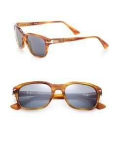 Persol | 53mm Square Sunglasses