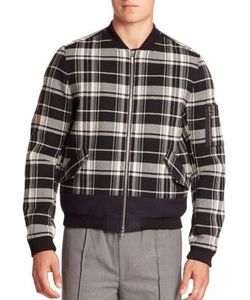 Timo Weiland | Combo Stripe Duncan Bomber Jacket
