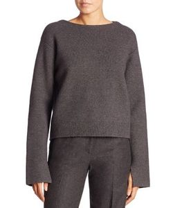 Jason Wu | Open-Back Wool Blend Top