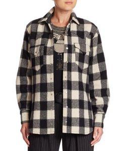 Ralph Lauren Collection | Buffalo Check Cotton Wool Shirt