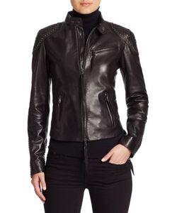Ralph Lauren Collection | Alton Leather Biker Jacket