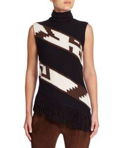 Ralph Lauren Collection | Sleeveless Turtleneck Sweater