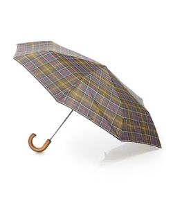 Barbour | Classic Tartan Telescopic Umbrella