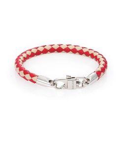 Bally | Woven Leather Bracelet