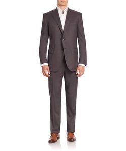 Corneliani | Solid Wool Suit