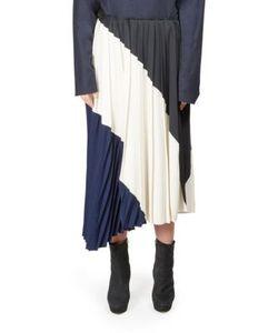 Cédric Charlier | Asymmetrical Pleated Skirt