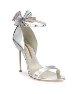 Sophia Webster | Maya Metallic Leather Ankle-Strap Sandals