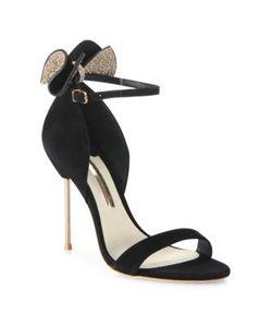 Sophia Webster | Maya Suede Ankle-Strap Sandals