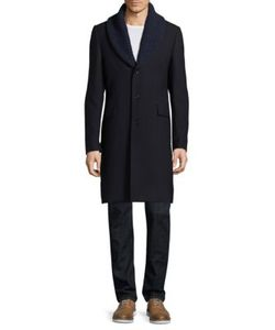 Paul Smith | Shawl Lapel Wool Coat