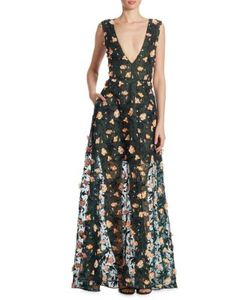 Jason Wu   Embroidered Gown