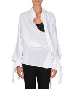 Ann Demeulemeester | Button Front Asymmetric Shirt