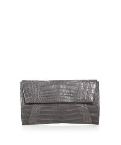Nancy Gonzalez | Medium Crocodile Envelope Clutch