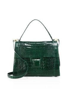 Nancy Gonzalez | Medium Kelly Crocodile Top-Handle Bag