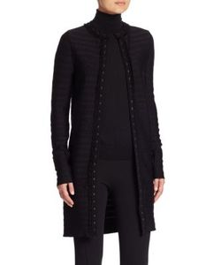 Ralph Lauren Collection | Open-Front Cardigan