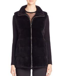 Michael Kors Collection | Mink Fur Vest