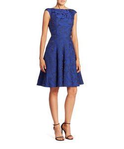Talbot Runhof | A-Line Cocktail Dress