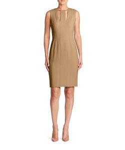 Akris | Wool Double Face Sheath Dress
