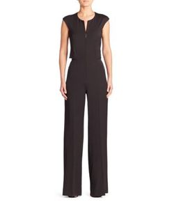 Akris | Stretch Silk Jumpsuit