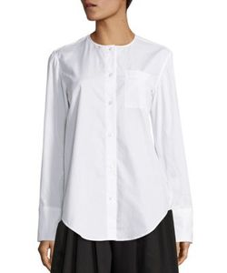 Tome | Cotton Split Back Shirt