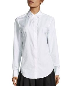 Tome | Cotton Open-Back Shirt