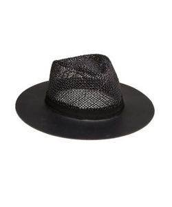 Eugenia Kim | James Leather Straw Fedora