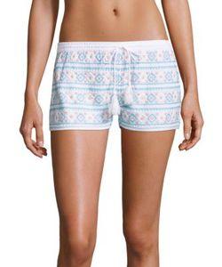 Melissa Odabash | Multi-Tone Embroidered Shorts