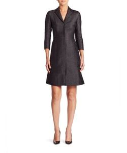 Akris | Tulle-Inset Coat Dress