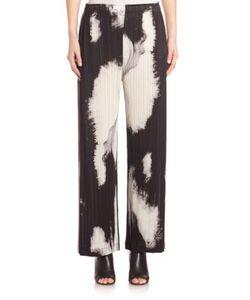 Pleats Please By Issey Miyake | Tenmoku Marble Print Wide Leg Pant