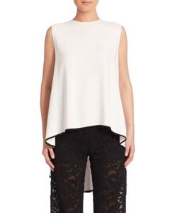 Adam Lippes | Sleeveless High-Low Top