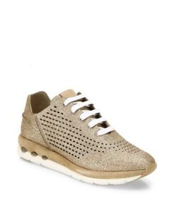 Salvatore Ferragamo | Gils Sparkle Lace-Up Sneakers