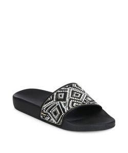 Salvatore Ferragamo | Groove Mosaic Pool Slide Sandals