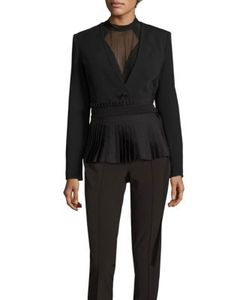 Yigal Azrouel | Pleated Belted Blazer