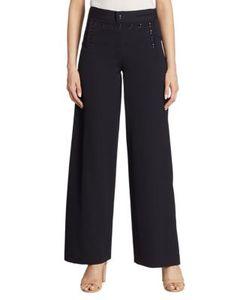 Ralph Lauren Collection | Ashley Wide-Leg Wool Sailor Pants