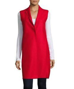 Harris Wharf London   Solid Wool Waistcoat