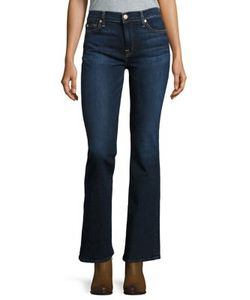 7 For All Mankind | Dark Wash Bootcut Jeans