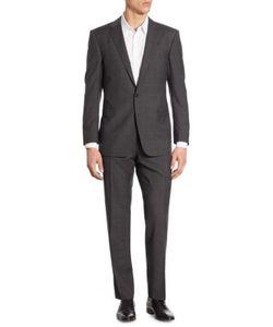 Polo Ralph Lauren   Connery Slim-Fit Windowpane Wool Suit