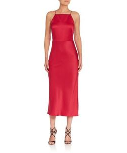 Jason Wu | Satin Cocktail Dress