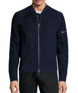 John Varvatos   Short Leather Jacket