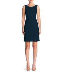 Akris | Sleeveless Wool Crepe Dress