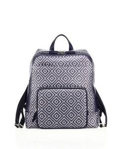 Salvatore Ferragamo | Geometric Calfskin Leather Backpack