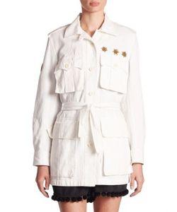 Figue   Embellished Safari Jacket
