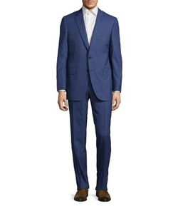 Canali | Mini Hound Wool Suit
