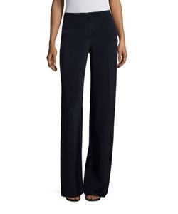 Carolina Herrera | Wide Leg Silk Pants